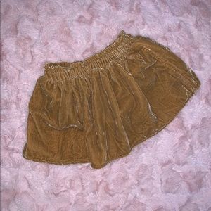 { 3 for $20 } NWT Velvet Skirt